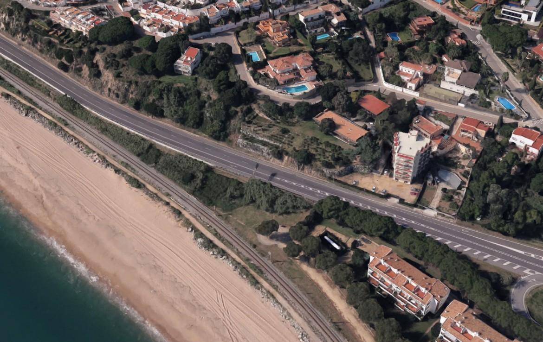 Vista aerea Sant Pol de Mar